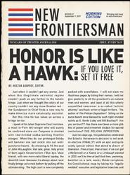 Peteypedia New Frontiersman Honor Is Like A Hawk 01
