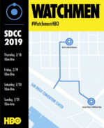 SDCC 2019 Panel for Watchmen HBO TV Series