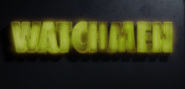 Watchmen Logo in S 1 E 3 She was Killed by Space Junk
