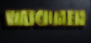 Watchmen Logo in S 1 E 3 She was Killed by Space Junk