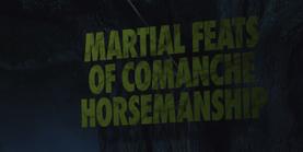 Martial Feats of Comanche Horsemanship Title Card