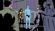 Doctor Manhattan's cameo in Watchmen The End is Nigh videogame cutscene. Voice by Crispin Freeman.