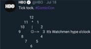 It's Watchmen hype o'clock Teaser Tweet July 18 2019