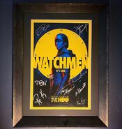 Signed Watchmen Poster