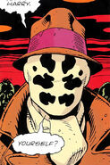 Rorschach in the bar