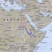 River Nile route