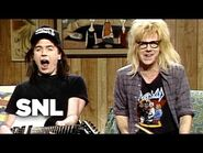 Wayne's World Cold Opening- Politics - Saturday Night Live