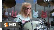 Wayne's World (5 10) Movie CLIP - Garth Likes to Play (1992) HD
