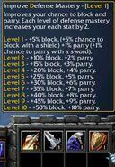 CK-Defensive Mastery