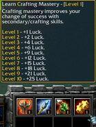 Crafting Mastery