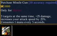 Missile gun