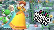 Super Mario Party Gameplay Whomp's Domino Ruins!