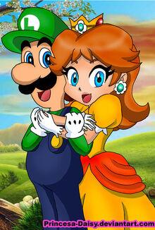 Luigi and daisy happy couple by princesa daisy-d3l81z0.jpg