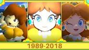 Evolution Of Daisy's Cutscenes (1989 - 2018)