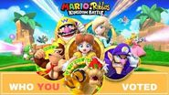Mario Rabbids Kingdom Battle WHO YOU WANTED!