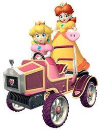 Peach and Daisy: Racing Partners.jpg