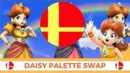 Super Smash Bros Daisy's Palette Swap!!
