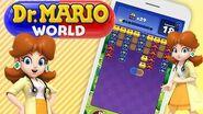 Dr Mario World - Dr DAISY Gameplay! 👩⚕️👩⚕️