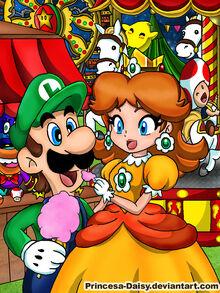Luigi and daisy night festival by princesa daisy-d51tq1o.jpg