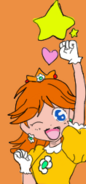 Princess daisy from a mario party 4 manga by princessvictoria65-dcjacl8