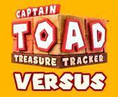 Captain Toad Versus Logo
