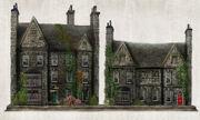 Hamlyn Village Residential Houses Concept Art 2