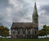 Church of Simon Says Concept Art