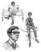 Arthur Hastings Concept Sketches