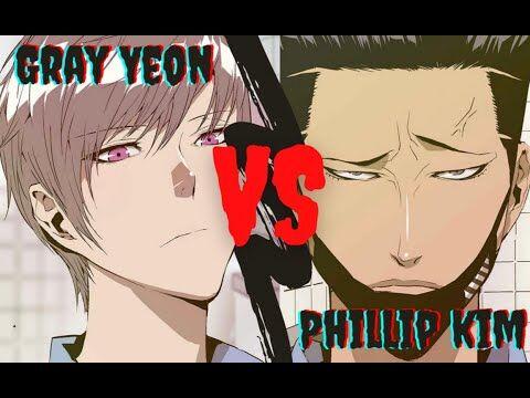 """Webtoon_Weak_Hero-_Gray_Yeon_""""The_White_Mamba""""_VS_Phillip_Kim_""""The_Manipulative_Bluffer"""""""