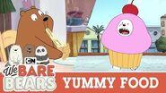 Yummy Food Compilation We Bare Bears