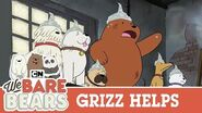 Grizz Helps Everyone Out We Bare Bears