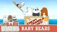 Baby Bears Love to Travel We Bare Bears