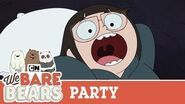 Slumber Party We Bare Bears