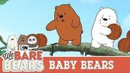 Baby Bears on an Island We Bare Bears