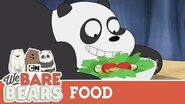 Foodie Bears Compilation We Bare Bears
