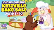 Kinzville Bake Sale Ad 1