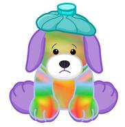Tie Dye Puppy Unhealthy