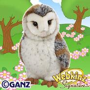 Signature Barn Owl Plush Pet
