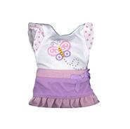 Plush Clothing Ruffle Skirt with Tee