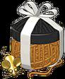 Signature calico cat adoption gift box