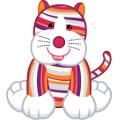 Striped Cheeky Cat Virtual