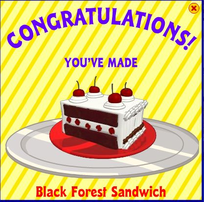 Black Forest Sandwich