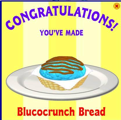 Blucocrunch Bread