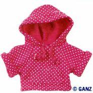 Plush Clothing Polka Dot Hoody
