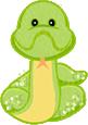Green Shimmer Snake