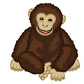 Small Signature Chimpanzee