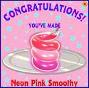 Neon Pink Smoothy