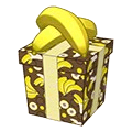 Banana Print Monkey Gift Box