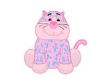 Bubblegum Cheeky Cat