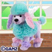 Poofy Poodle Plush Pet